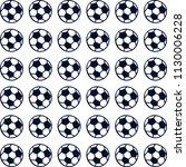 sport pattern foolball vector... | Shutterstock .eps vector #1130006228