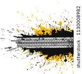abstract splatter background... | Shutterstock .eps vector #1130008982