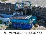 dunure bay ayrshire lobster... | Shutterstock . vector #1130032565