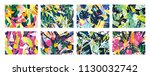 collection of creative abstract ... | Shutterstock .eps vector #1130032742