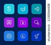 modern  simple vector icon set...   Shutterstock .eps vector #1130066408