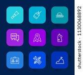 modern  simple vector icon set... | Shutterstock .eps vector #1130068892