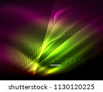smooth light effect  straight... | Shutterstock .eps vector #1130120225
