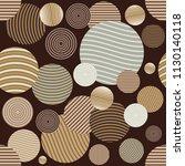 circle pattern. modern stylish... | Shutterstock .eps vector #1130140118
