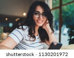 lifestyle portrait of young... | Shutterstock . vector #1130201972