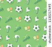 football   soccer background.... | Shutterstock .eps vector #1130217695