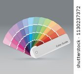 illustration of color palette... | Shutterstock .eps vector #1130237372