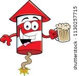 cartoon illustration of a... | Shutterstock .eps vector #1130257715