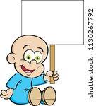 cartoon illustration of a... | Shutterstock .eps vector #1130267792