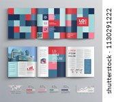 business brochure template... | Shutterstock .eps vector #1130291222