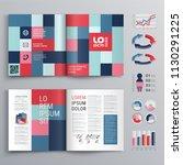 business brochure template... | Shutterstock .eps vector #1130291225