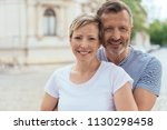 upper body portrait of middle... | Shutterstock . vector #1130298458