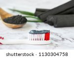 toothpaste by activated... | Shutterstock . vector #1130304758