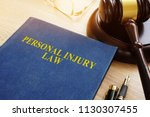 Personal Injury Law On A Desk...