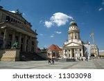 the gendarmenmarkt in former... | Shutterstock . vector #11303098