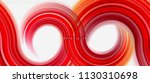 rainbow fluid color line... | Shutterstock .eps vector #1130310698