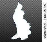 map of liechtenstein. vector... | Shutterstock .eps vector #1130323622