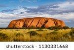 ayers rock  australia | Shutterstock . vector #1130331668