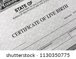 Birth certificate for live baby ...