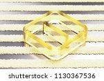 yellow glass minus in square... | Shutterstock . vector #1130367536
