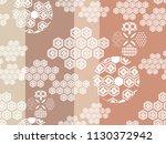 beautiful japanese seamless ...   Shutterstock .eps vector #1130372942