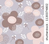 vector seamless pattern with... | Shutterstock .eps vector #1130374802