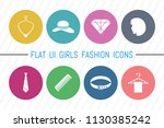 flat ui 8 color girls fashion...