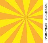retro sunburst ray in vintage... | Shutterstock .eps vector #1130386328