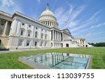 Stock photo us capitol building in washington dc 113039755