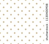 golden flowers seamless pattern.... | Shutterstock .eps vector #1130400908
