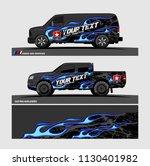 car decal design vector....   Shutterstock .eps vector #1130401982