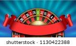 illustration online poker... | Shutterstock .eps vector #1130422388