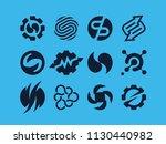modern professional vector set  ... | Shutterstock .eps vector #1130440982
