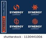 modern professional vector set  ... | Shutterstock .eps vector #1130441006
