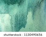 abstract green and blue hue... | Shutterstock . vector #1130490656