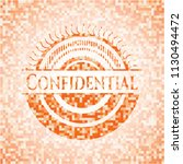 confidential abstract emblem ... | Shutterstock .eps vector #1130494472