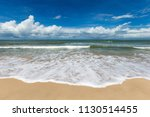 sea view from tropical beach... | Shutterstock . vector #1130514455