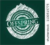offspring on blackboard   Shutterstock .eps vector #1130515775