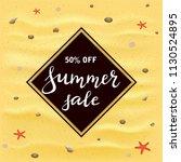 black banner with lettering... | Shutterstock .eps vector #1130524895