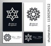 mandala symbol  floral...   Shutterstock .eps vector #1130529212
