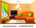 vector illustration of living... | Shutterstock .eps vector #1130534105