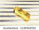 yellow glass minus icon on the... | Shutterstock . vector #1130563532