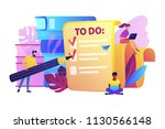 people feel in check boxes in... | Shutterstock .eps vector #1130566148