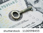 key for world and united states ... | Shutterstock . vector #1130598455