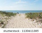 long beach island bay side... | Shutterstock . vector #1130611385