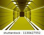 corridors secret building....   Shutterstock .eps vector #1130627552