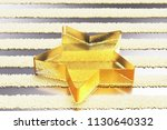 yellow glass star icon on the...