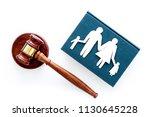 family law  family right... | Shutterstock . vector #1130645228