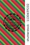 friendship christmas colors...   Shutterstock .eps vector #1130659232