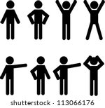 stick figure positions set...